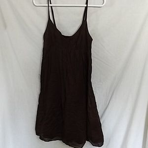 J.Crew Brown Midi-Dress - Large